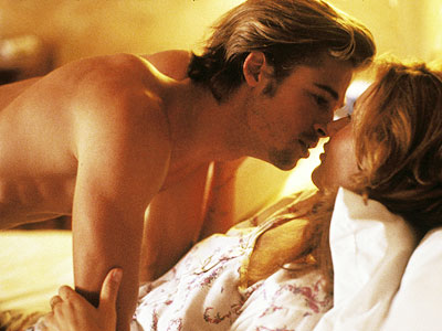 Brad Pitt and Susan Sarandon in Themal and Louise