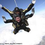 83 Year Old Bush Parachutes