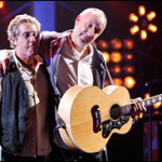 Pete Townshend hearts Roger Daltrey