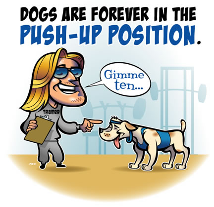 Displaying (19) Gallery Images For Push Ups Cartoon...