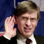 Bud Selig won't take the needle