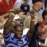 LeBron James' Yankee Hat